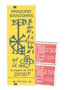 Andorre francais YT Carnet no 4