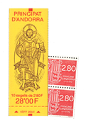 Andorre francais YT Carnet no 5