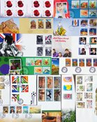 Gibraltar - 38 different First Day Covers with sets