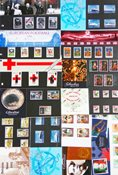 Gibraltar - 29 forsk. souvenirpakker med sæt