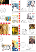 Monaco - 52 different First Day Covers - Packet 3