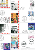 Monaco - 42 different First Day Covers - Packet 1