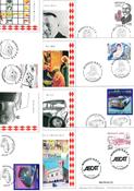 Monaco - Enveloppes 1er jour - 1ère partie