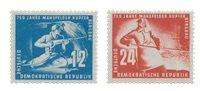 République Démocratique Allemande 1950 - Michel 273-274 - Neuf