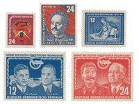 République Démocratique Allemande 1951 - Michel 293-297 - Neuf