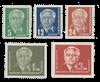 DDR 1952 - Michel 322-326 / AFA 154+157-158+90x-91x - Postfrisk