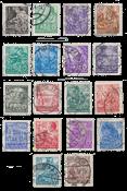 République Démocratique Allemande 1953 - Michel 362-379 - Oblitéré