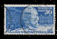 Republique Fédéraled'Allemagne 1949 - Michel 116 -  Oblitéré