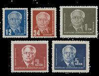 République Démocratique Allemande 1950 - Michel 251-255 - Neuf