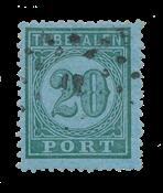 Nederlands Indië 1875 - P4 - Gebruikt