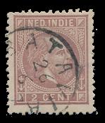 Nederlands Indië 1870-1888 - 5 - Gebruikt