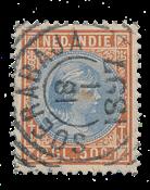 Nederlands Indië 1892-1897 - 30 - Gebruikt