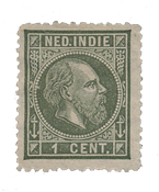 Nederlands Indië 1870-1888 - 3 - Ongebruikt