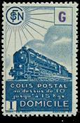 France - Colis postaux YT 222B - Neuf avec charnières