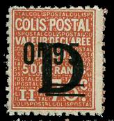 Frankrig - Pakkeporto YT 136 - Ubrugt