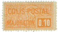 Frankrig - Pakkeporto YT 77 - Ubrugt