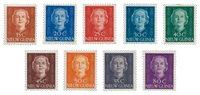 Nederlands Nieuw Guinea 1950-1952 - Nr. 10-18 - Ongebruikt