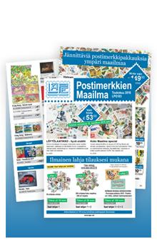 Postimerkkien Maailma LPG183