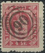 Danemark - Service - 1871