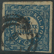 Danemark - 1852