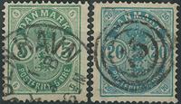 Danemark - 1882