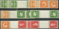 Danmark - Tête-Bêche - 1933-35