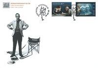 Suède - Ingmar Bergman - Enveloppe premier jour