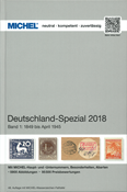 MICHEL - Germany, Specialized 2018 - Vol. I (1849-April 1945)