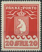Grønland - Pakkporto - 1915