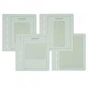 LEUCHTTURM Feuilles d'album neutres pour Feuilles de 10, format: 191x104 mm