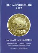 Sieg Danmark møntkatalog 2012