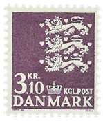 Danmark  - AFA 501 - Postfrisk