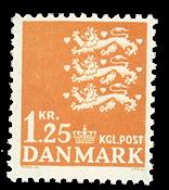 Danmark  - AFA 404 - Postfrisk