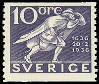 Sverige - facit 247A - postfrisk