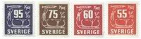 Sverige - facit 459, 460,463,466 - postfrisk