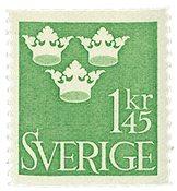 Sverige - Facit 301 - Postfrisk