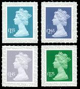 外国邮票 英国邮票 2018 新邮 英国皇家邮政2018新普通邮票 普票 - 新票套票4枚