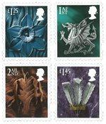 外国邮票 英国邮票 2018 新邮 英国2018普通邮票 威尔士版 普票 - 新票套票4枚