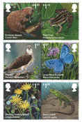 Great Britain - Animal species - Mint set 6v