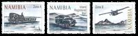 Namibia - Historiske transportmidler - Postfrisk sæt 3v