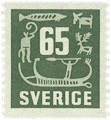 Sverige - facit 461 - postfrisk