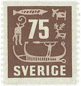 Sverige - facit 463 - postfrisk