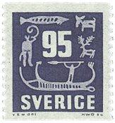 Sverige - facit 466 - postfrisk