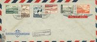 Island 1947 - AFA 242-247 - FDC