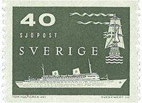 Sverige - facit 491 - postfrisk