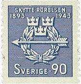 Sverige - facit 348 - postfrisk