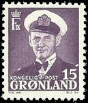 Groenland - Roi Frédéric IX - 15 øre - Violet