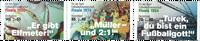 Duitsland - WK Voetbal 2018 - Postfrisse serie van 3
