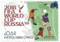 Cyprus - Football World Cup - Mint stamp