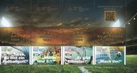 Allemagne - Joueurs de football - Bloc de carnet neuf